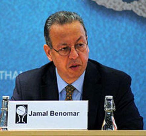 Jamal Benomar udashakwa ku butaka bw'u Burundi.