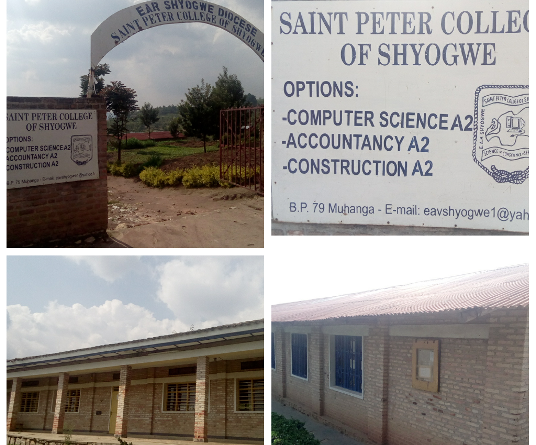 SAINT PETER COLLEGE OF SHYOGWE (Ishuri ryitiriwe Mutagatifu Petero ry'Ishyogwe)